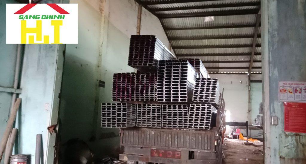 Hình 8: cung cấp xà gồ C, Z tại Thanh Hoá