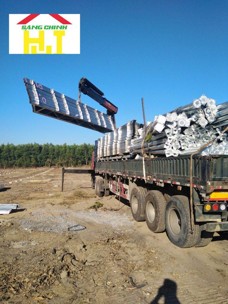 Hình 6: cung cấp xà gồ C, Z tại Thanh Hoá
